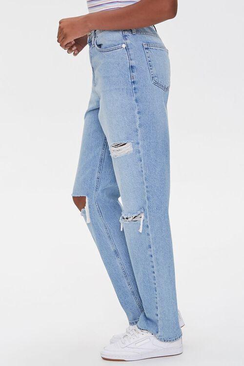 Distressed Straight-Leg Jeans, image 3