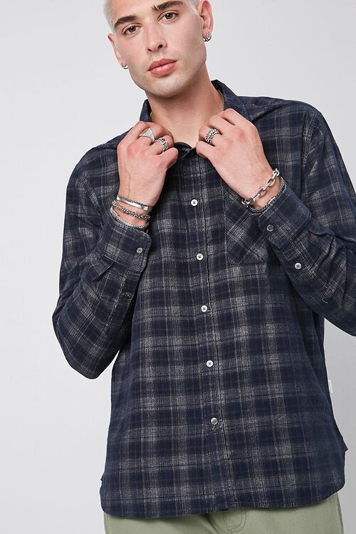 Premium Plaid Pocket Shirt, image 1