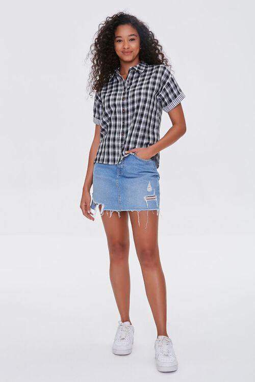 Cuffed Plaid Shirt, image 4