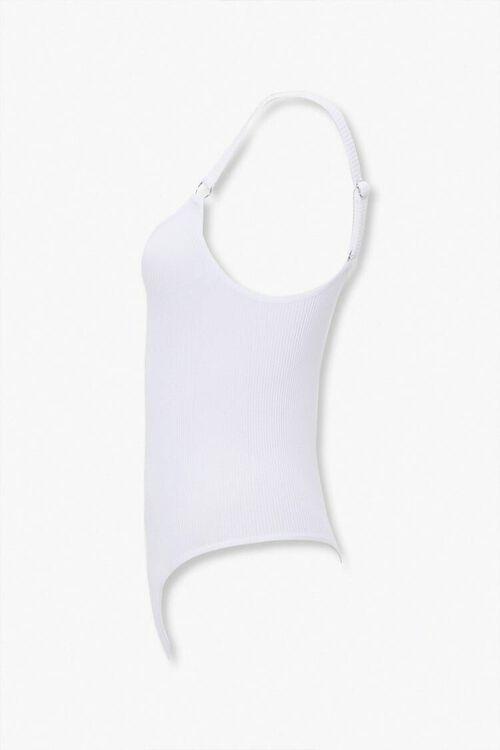 Ribbed Knit Thong Bodysuit, image 2