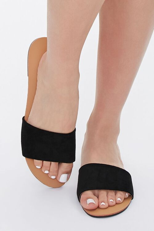Faux Leather Open-Toe Sandals, image 4
