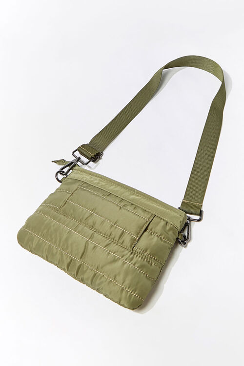 Channel-Stitched Crossbody Bag, image 2