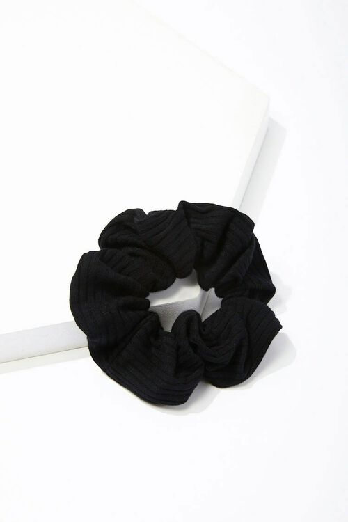 Ribbed Knit Scrunchie, image 2