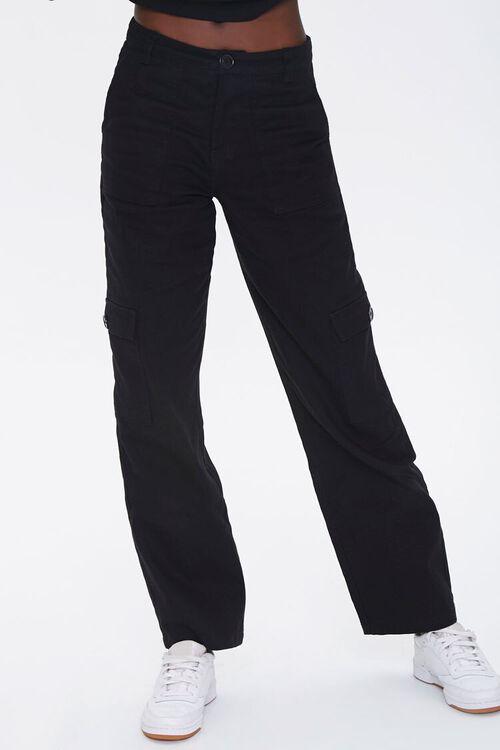 Denim Cargo Pants, image 2