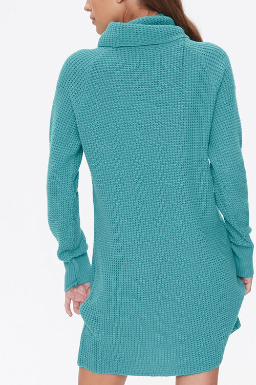 Turtleneck Sweater Dress, image 3