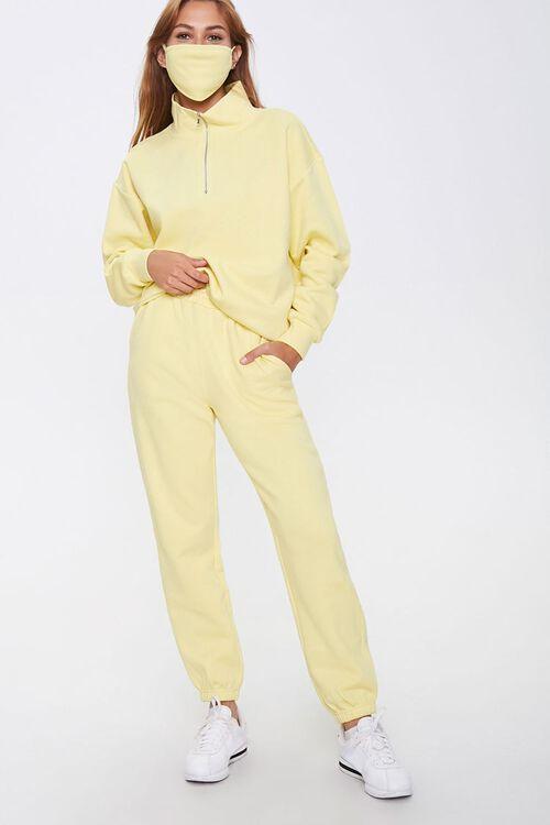Drawstring Fleece Sweatpants, image 1