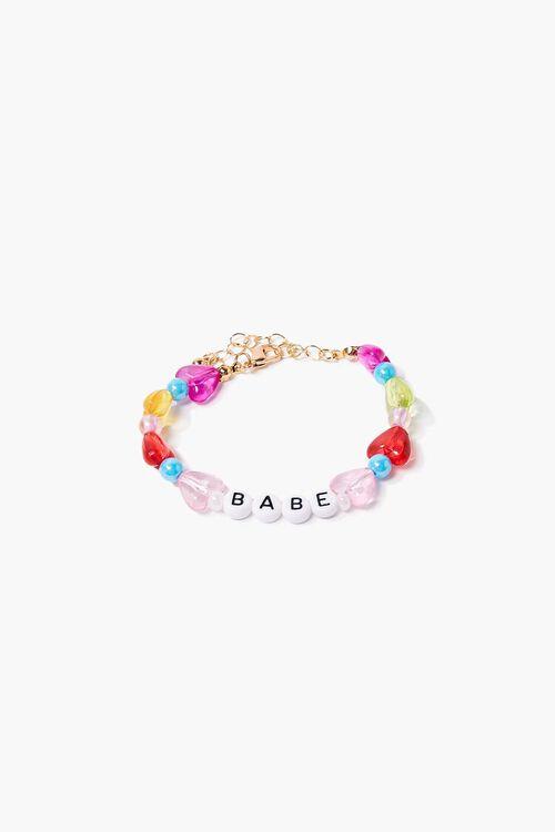Beaded Babe Charm Bracelet, image 1