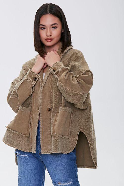 High-Low Patch-Pocket Jacket, image 1