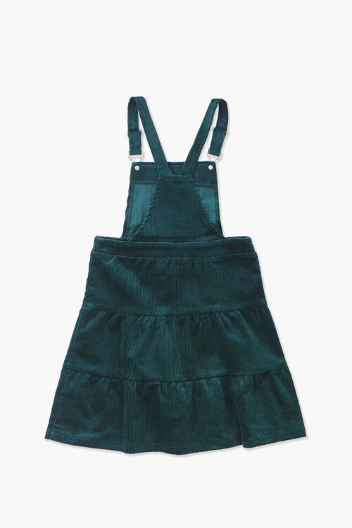 GREEN Girls Corduroy Overall Dress (Kids), image 2