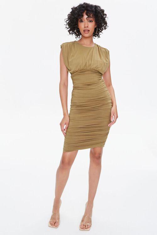 Shirred Bodycon Dress, image 5