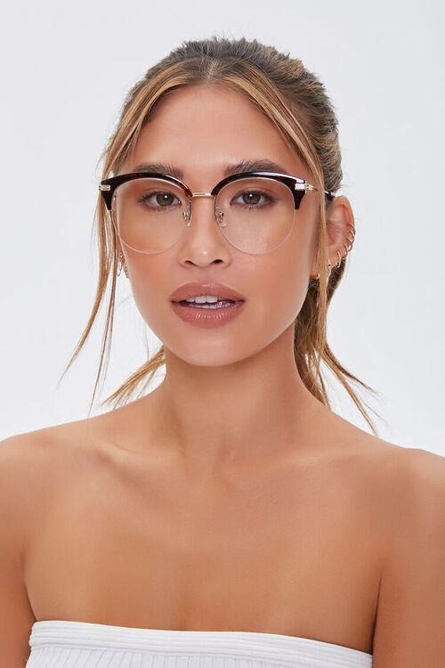 BROWN/CLEAR Translucent Reader Glasses, image 2