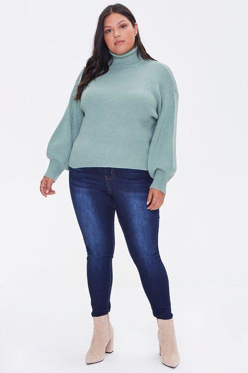 Plus Size Turtleneck Sweater, image 4