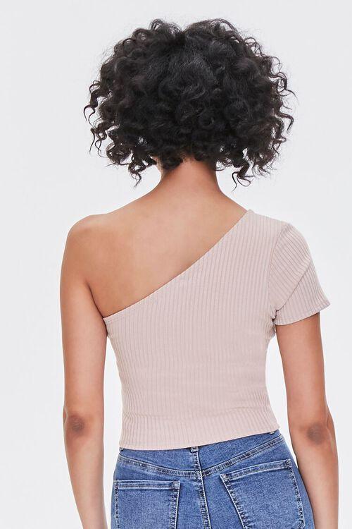 One-Shoulder Crop Top, image 3