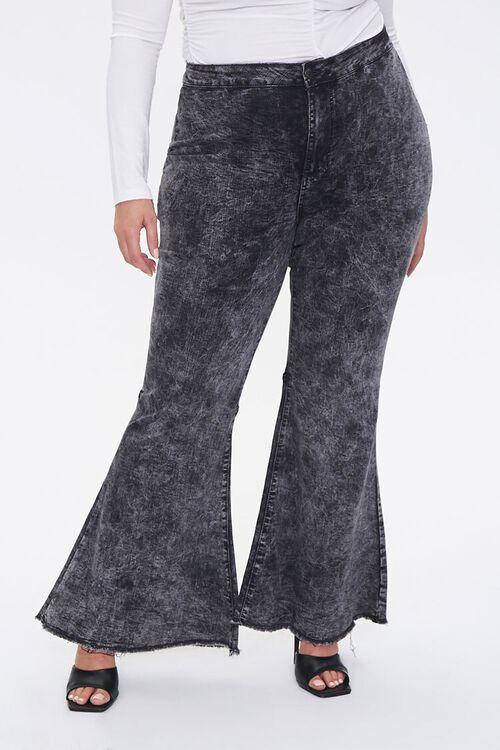 Plus Size Flare Jeans, image 2