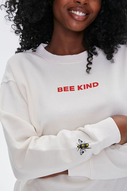French Terry Bee Kind Pullover, image 1