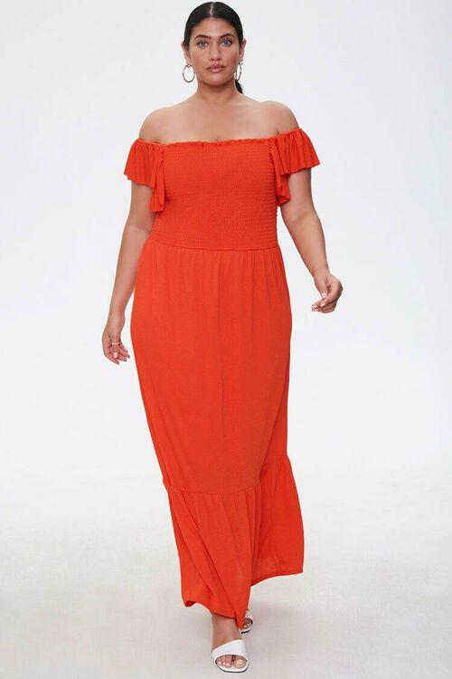 Plus Size Off-the-Shoulder Dress, image 4