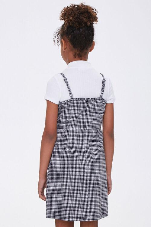 Girls Plaid Cami Dress (Kids), image 2