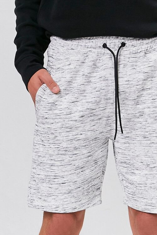 Marled Drawstring Shorts, image 5