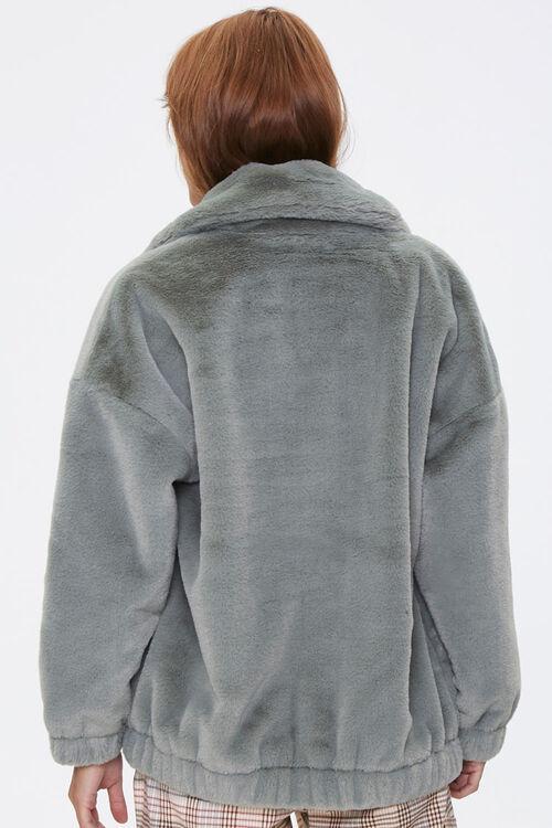 Plush Drop-Sleeve Jacket, image 3
