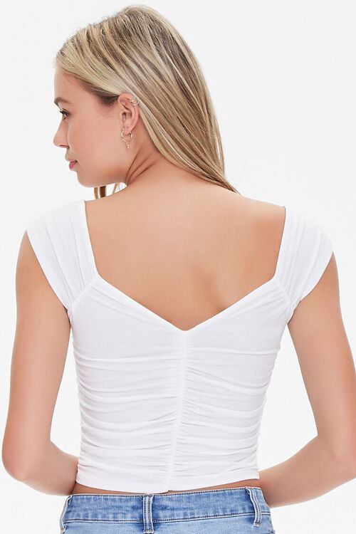 Ruched Crop Top, image 3