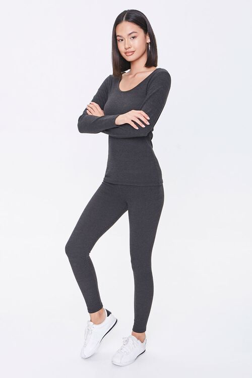 Pajama Top & Leggings Set, image 1
