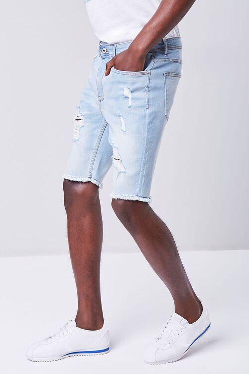 Distressed Denim Shorts, image 3