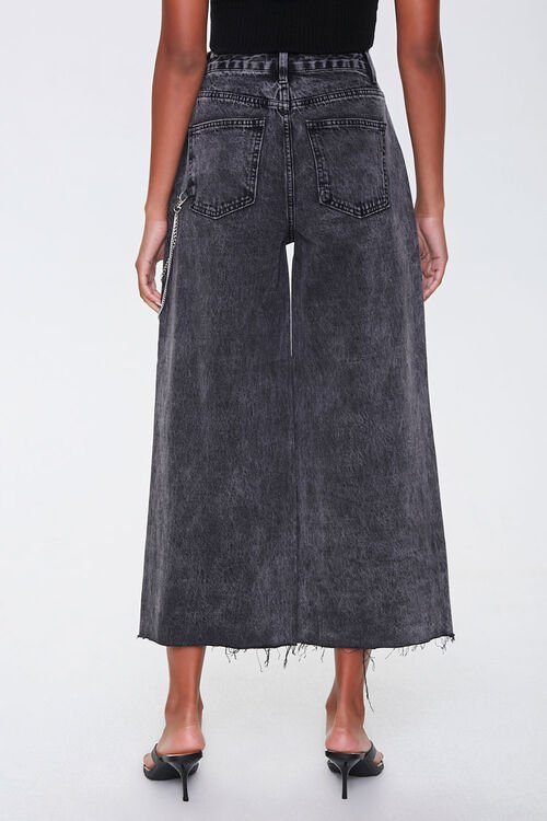 Wide-Leg Ankle Jeans, image 4