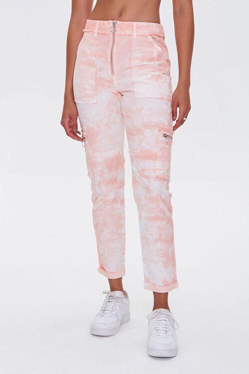 Tie-Dye Utility Ankle Pants, image 2