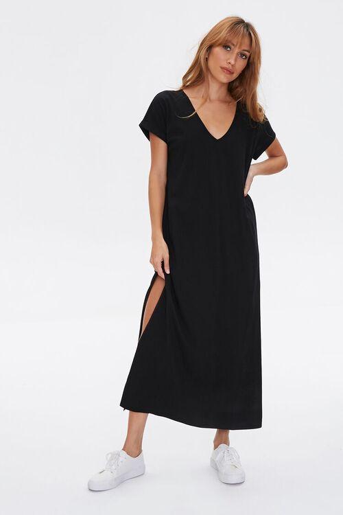 Side-Slit Maxi Dress, image 2