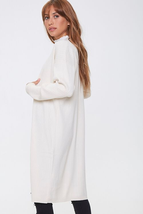 Ribbed Duster Cardigan, image 2