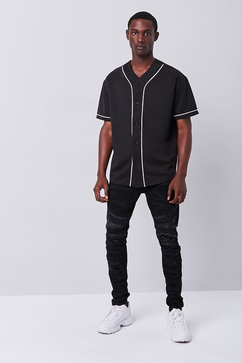 Contrast Piped-Trim Shirt, image 4