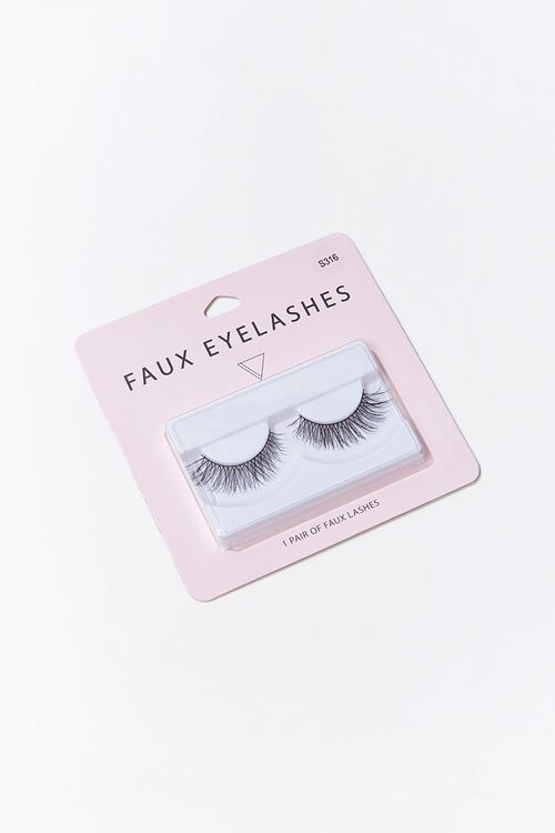 Wispy Crosshatched Faux Lashes, image 1
