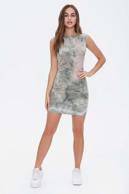 Tie-Dye Sleeveless Dress, image 4