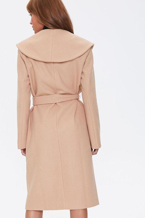 Tie-Waist Wrap Coat, image 3