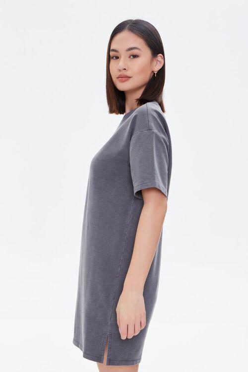 Mineral Wash T-Shirt Dress, image 2