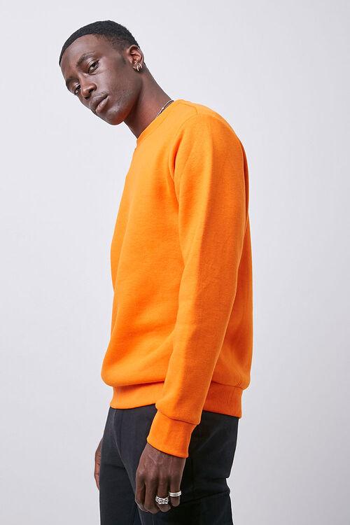 Crew Neck Fleece Sweatshirt, image 2