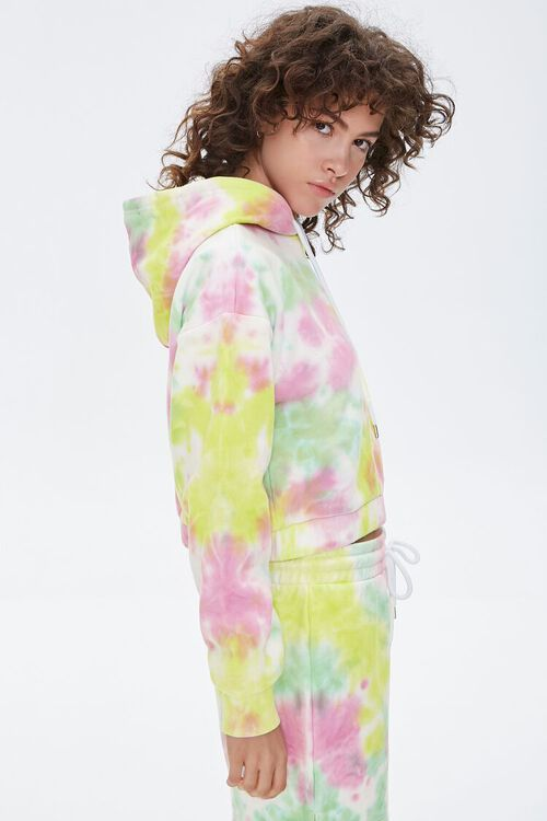 French Terry Tie-Dye Hoodie, image 2