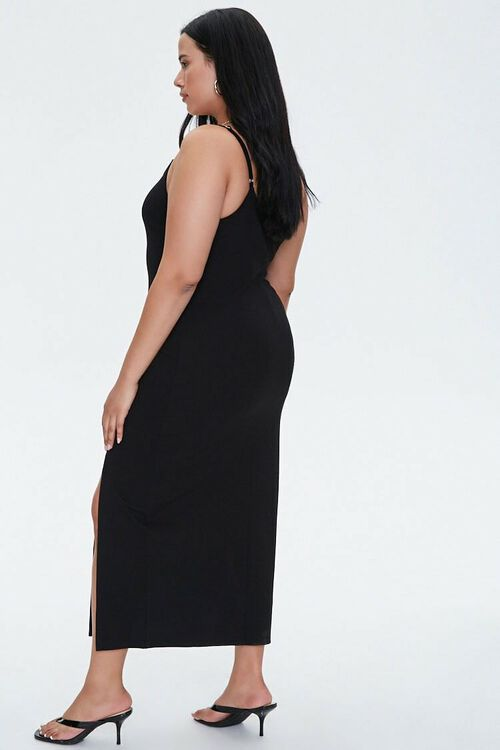 Plus Size Slit Bodycon Dress, image 2