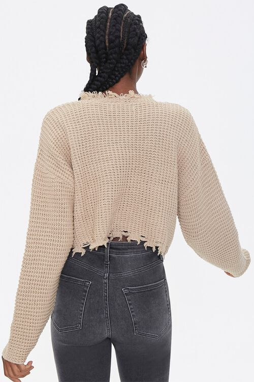 Ribbed Cropped Sweater, image 3