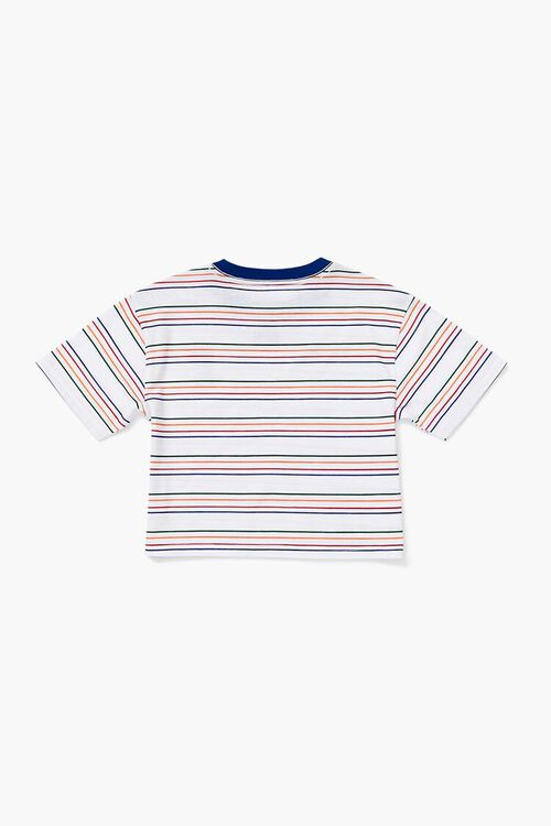 Girls Tweety Graphic Striped Tee (Kids), image 2