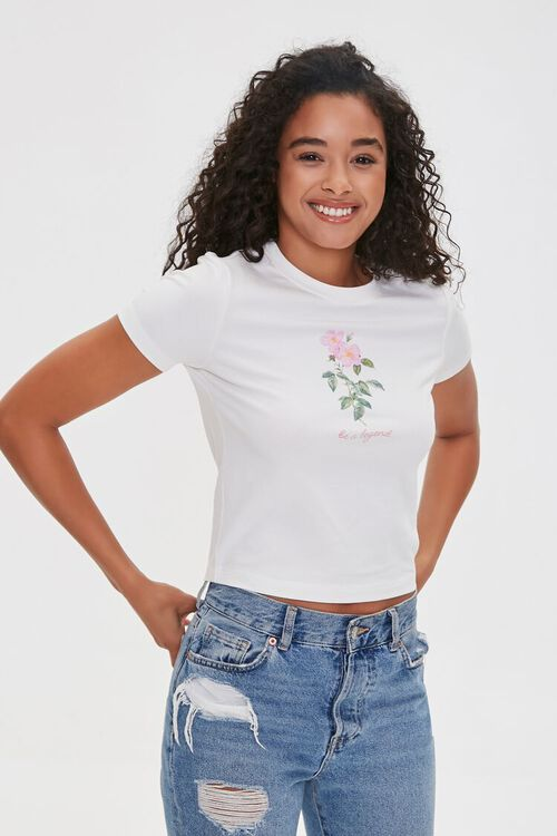 Be a Legend Floral Graphic Tee, image 2