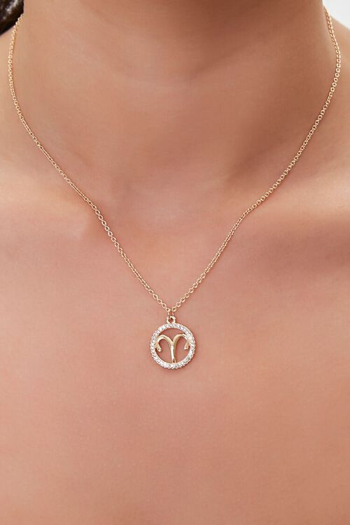 Astrology Charm Chain Necklace, image 1