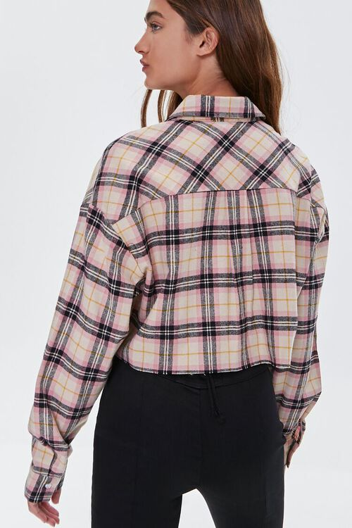 Cropped Flannel Shirt, image 3