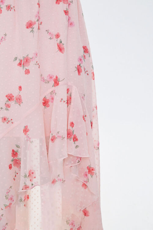 Floral High-Low Dress, image 3
