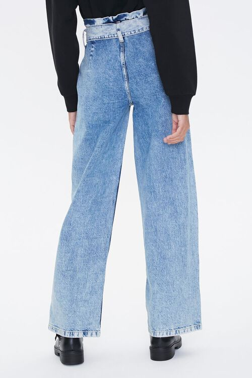 Paperbag Wide-Leg Jeans, image 3