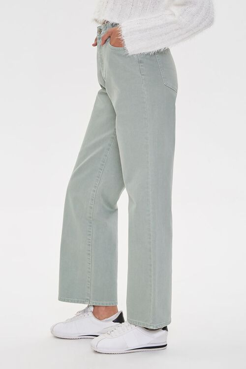 High-Rise Straight Jeans, image 3