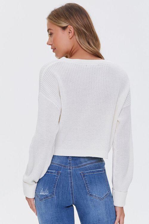 Ribbed Dropped-Sleeve Sweater, image 3