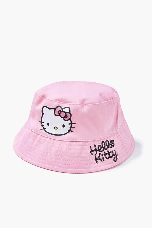 Girls Hello Kitty Bucket Hat (Kids), image 1