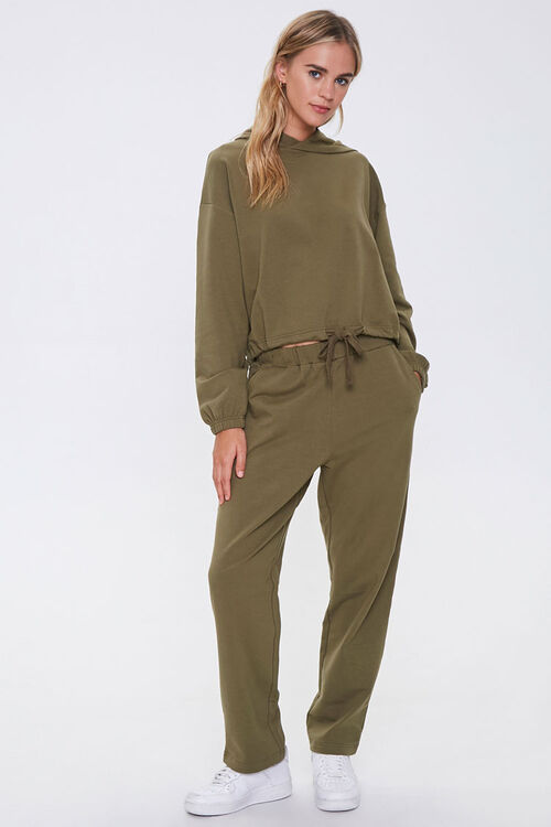 Hooded French Terry Top, image 4