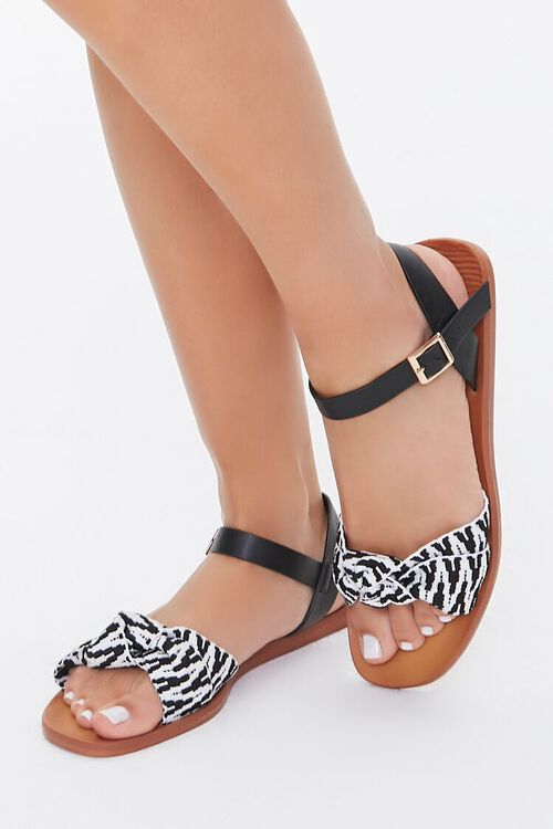 Geo Print Sandals, image 1